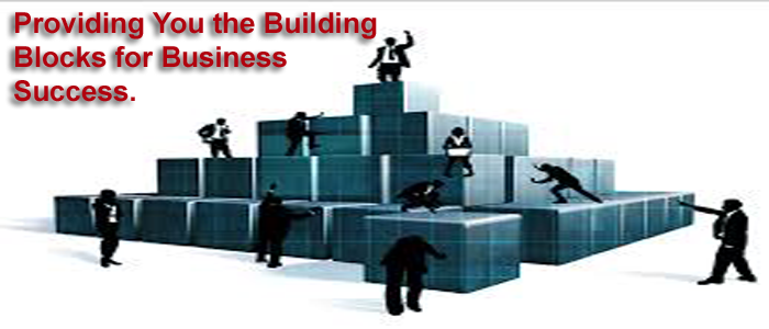 Providing you the building blocks for business success.